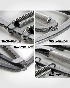 VICELIKE™ ADJUSTABLE HAND GRIPPERS / STRENGTH GRIPS