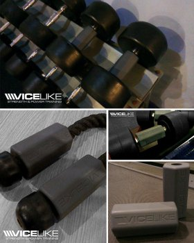 VICELIKE™ HEX FAT BAR GRIPS - FOR DUMBBELLS & BARBELLS