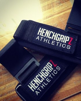 HENCHGRIPZ 750LB WEIGHTLIFTING HOOKS / STRAPS