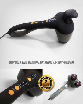 MUSCLETOOLS PRO PHYSIO BODY TWIN HEAD MASSAGER