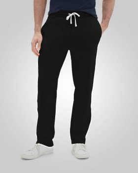 HENCHGRIPZ EXTRA LONG TALL JET BLACK JOGGING / GYM BOTTOMS